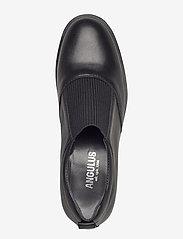 ANGULUS - Shoes - flat - with elastic - loaferit - 1604/019 black/black - 3