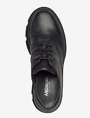 ANGULUS - Shoes - flat - with lace - buty sznurowane - 1604 black - 3