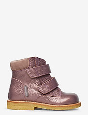 ANGULUS - Boots - flat - with velcro - lauflernschuhe - 1509/2202 lavender shine/laven - 1