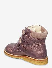 ANGULUS - Boots - flat - with velcro - lauflernschuhe - 1509/2202 lavender shine/laven - 2