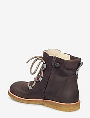 ANGULUS - Boots - flat - with velcro - boots - 1660/1660/2022 dark brown/refl - 2