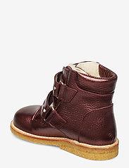 ANGULUS - Boots - flat - with velcro - lära-gå-skor - 1536/2012 bordeaux shine - 2