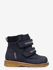 ANGULUS - Boots - flat - with velcro - lauflernschuhe - 1587/2012/2215/2022 navy/refle - 1