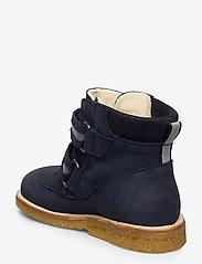ANGULUS - Boots - flat - with velcro - lauflernschuhe - 1587/2012/2215/2022 navy/refle - 2