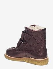 ANGULUS - Boots - flat - with velcro - stövlar & kängor - 1536 bordeaux shine - 2