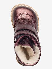 ANGULUS - Boots - flat - with velcro - stövlar & kängor - 1536 bordeaux shine - 3