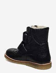 ANGULUS - Boots - flat - with velcro - vinterstövlar - 2504 black - 2