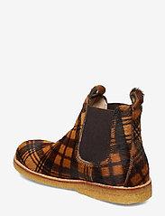 ANGULUS - Chelsea boot - støvler - 1105/002 checked pony/brown - 2