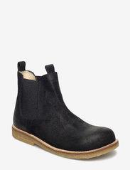 ANGULUS - Chelsea boot - stövlar & kängor - 2504/001 black/black - 0