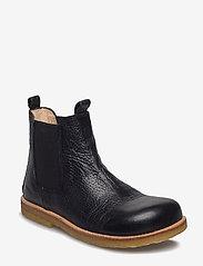 ANGULUS - Chelsea boot - stövlar & kängor - 2504/001 black/black - 5