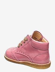 ANGULUS - Shoes - flat - with lace - lauflernschuhe - 2389 rose pink - 2