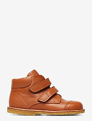 ANGULUS - Boots - flat - with velcro - lauflernschuhe - 1431 cognac - 1
