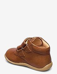 ANGULUS - Boots - flat - with velcro - lauflernschuhe - 1545 cognac - 2