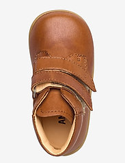 ANGULUS - Boots - flat - with velcro - lauflernschuhe - 1545 cognac - 3