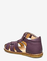 ANGULUS - Sandals - flat - closed toe -  - sandały z paskiem - 1568 lavender - 2