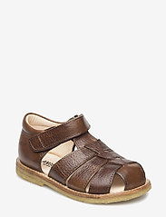 ANGULUS - Sandals - flat - closed toe -  - remsandaler - 2509 cognac - 4