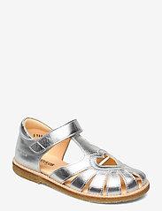 Sandals - flat - closed toe -  - 1329 SILVER