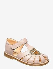Sandals - flat - closed toe -  - 2334/2489 POWDER/CHAMPAGNE GLI