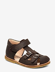 ANGULUS - Sandals - flat - sandals - 1660 dark brown - 0
