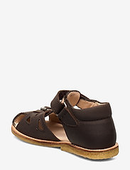 ANGULUS - Sandals - flat - sandals - 1660 dark brown - 2