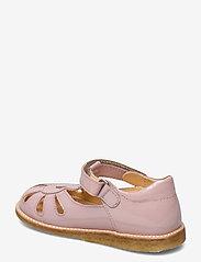 ANGULUS - Sandals - flat - closed toe -  - siksniņu sandales - 2354 pale rose - 2