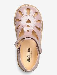 ANGULUS - Sandals - flat - closed toe -  - siksniņu sandales - 2354 pale rose - 3