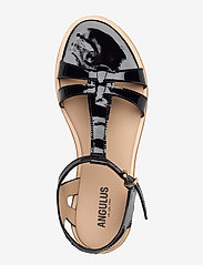 ANGULUS - Sandal with leather sole - flache sandalen - 2320 black - 3