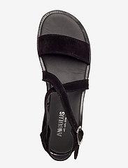 ANGULUS - 5442 - flache sandalen - 1163 black - 3