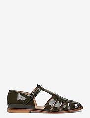 ANGULUS - Sandals - flat - closed toe - op - flache sandalen - 2345 olive - 1