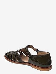 ANGULUS - Sandals - flat - closed toe - op - flache sandalen - 2345 olive - 2