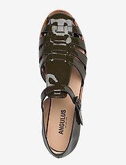 ANGULUS - Sandals - flat - closed toe - op - flache sandalen - 2345 olive - 3