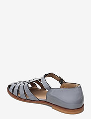ANGULUS - Sandals - flat - closed toe - op - flache sandalen - 2350 greyblue - 2