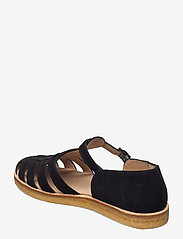 ANGULUS - Sandals - flat - closed toe - op - flache sandalen - 1163 black - 2