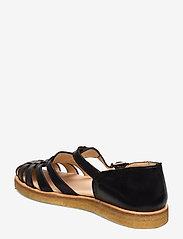 ANGULUS - Sandals - flat - closed toe - op - platta sandaler - 1604 black - 2