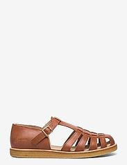 ANGULUS - Sandals - flat - closed toe - op - flade sandaler - 1789 tan - 1