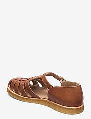 ANGULUS - Sandals - flat - closed toe - op - flade sandaler - 1789 tan - 2