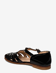 ANGULUS - Sandals - flat - closed toe - op - flache sandalen - 2320 black - 2