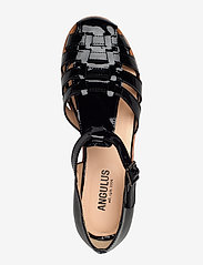 ANGULUS - Sandals - flat - closed toe - op - flache sandalen - 2320 black - 3