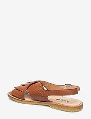 ANGULUS - Sandals - flat - flache sandalen - 1431 cognac - 2