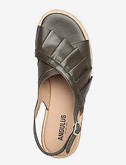ANGULUS - Sandals - flat - flache sandalen - 1446 olive - 3