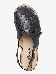 ANGULUS - Sandals - flat - flache sandalen - 1604 black - 3