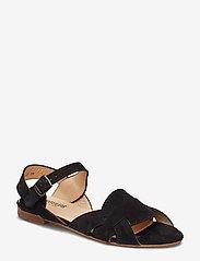 ANGULUS - Sandals - flat - platta sandaler - 1163 black - 0