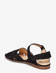 ANGULUS - Sandals - flat - platta sandaler - 1163 black - 2