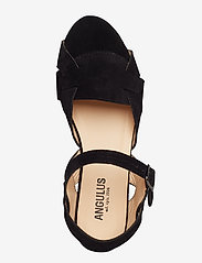 ANGULUS - Sandals - flat - platta sandaler - 1163 black - 3