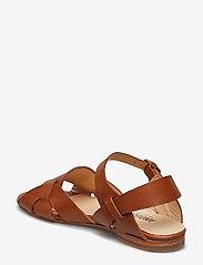 ANGULUS - Sandals - flat - flache sandalen - 1789 tan - 2