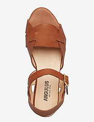 ANGULUS - Sandals - flat - flade sandaler - 1789 tan - 3