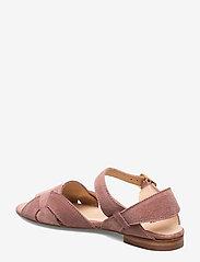 ANGULUS - Sandals - flat - flache sandalen - 2194 powder - 2