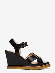ANGULUS - Sandals - wedge - wedges - 1835 black - 1