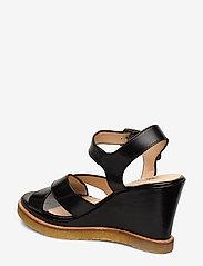 ANGULUS - Sandals - wedge - wedges - 1835 black - 2