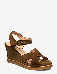ANGULUS - Sandals - wedge - wedges - 2209 mustard - 0
